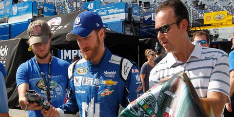 Dale Earnhardt Jr. is part of a committee of drivers working with NASCAR officials to improve racing in the Sprint Cup Series.
