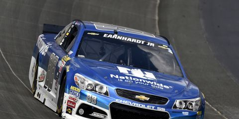 This weekend, Dale Earnhardt Jr. will try to win at Pocono for the third time in a row.