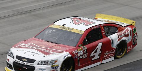 After battling back from the edge of elimination with a win at Dover, Kevin Harvick is still ready to defend his Sprint Cup championship.