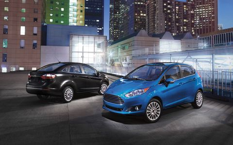 The 1.0-liter engine is new in the Fiesta, and produces more power than the 1.6-liter inline-four.