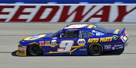 Chase Elliott is the son of NASCAR legend Bill Elliott.