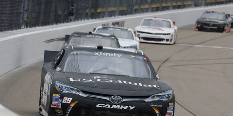 Kenny Wallace is preparing to make his final NASCAR Xfinity Series start this weekend in Iowa.