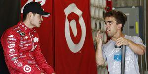 Sprint Car ace Rico Abreu is lobbying Chip Ganassi for an Indy 500 entry alongside best friend Kyle Larson.