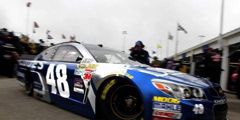 Jimmie Johnson has his sights set on winning the NASCAR Sprint All-Star Race.
