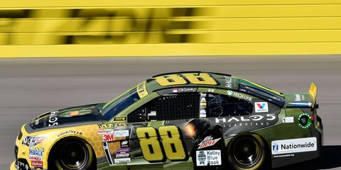 Dale Earnhardt Jr. is 11th in the NASCAR Sprint Cup Series standings.