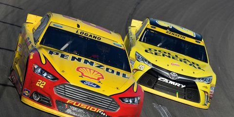 Joey Logano and Matt Kenseth are the feud of the week in NASCAR Sprint Cup.