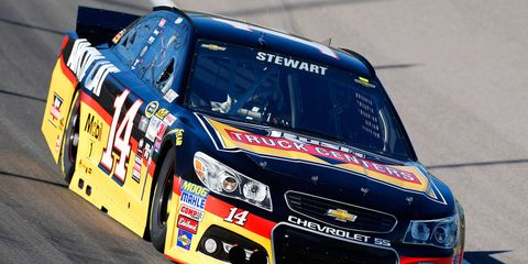 Tony Stewart is returning to the Sprint Cup Series after missing the past eight races due to a back injury.