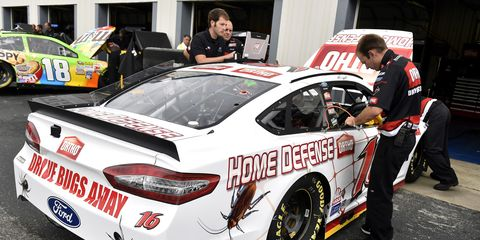 Greg Biffle is somewhat skeptical about how the Michigan and Indy rules will help encourage passing.