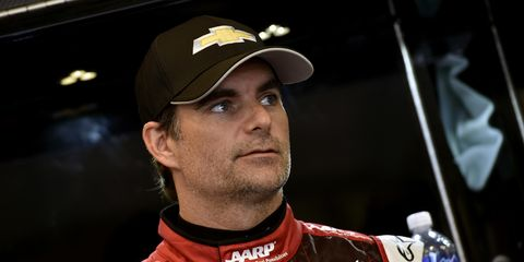 Jeff Gordon has yet to lead even one lap in four NASCAR Sprint Cup Series races at Kentucky Speedway.