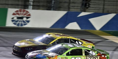 The low-downforce packaged proved to be popular with NASCAR Sprint Cup Series drivers and fans at this year's race at Kentucky.