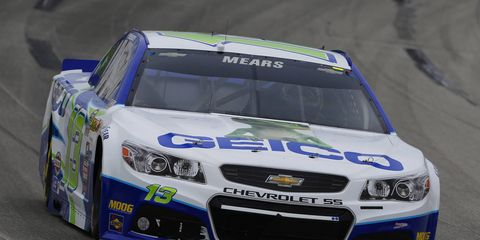 Casey Mears has been with Germain Racing since 2010.