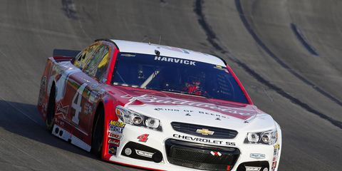 Kevin Harvick left New Hampshire with a commanding 69-point lead over Joey Logano in the NASCAR Sprint Cup Series points standings.