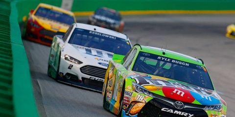 Kyle Busch, last weekend's winner at Kentucky Speedway, goes for his third win of the season on Sunday in New Hampshire.