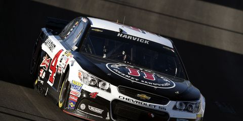 Kevin Harvick has been outstanding so far in 2015. On Friday, the driver won the pole for Sunday's NASCAR Sprint Cup race.