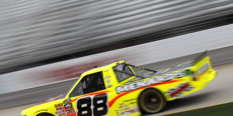 Matt Crafton looks to continue his strong record at 1.5-mile tracks this weekend in Kansas.