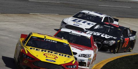 Joey Logano is looking to win again in Texas.