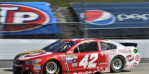 Kyle Larson sat out last week's NASCAR Sprint Cup race in Martinsville after he fainted at the track. He was cleared to race again next weekend in Texas.