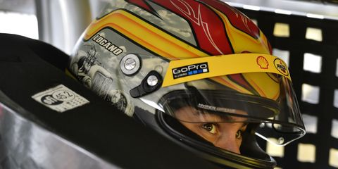 On Friday, Joey Logano won the pole for this weekend's NASCAR Sprint Cup race at Martinsville.