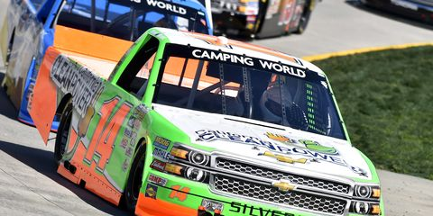 Daniel Hemric is in his first full season with NTS Motorsports in the NASCAR Camping World Truck Series.