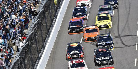 NASCAR restarts at Martinsville are unfair to those who have to race from the outside so the 'cone rule' is an obvious solution.