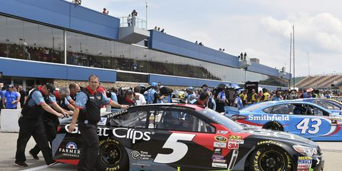 Kasey Kahne says that NASCAR Sprint Cup has gotten harder over the years.