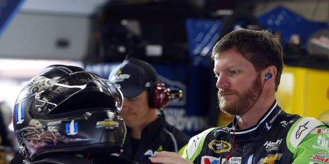 Dale Earnhardt Jr. proposed to his girlfriend in a special place.