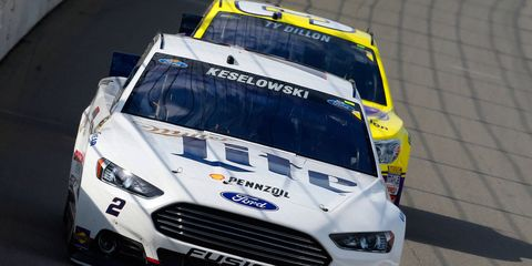 Team Penske's Brad Keselowski hopes to give Ford its first NASCAR Sprint Cup Series drivers' championship since 2004.