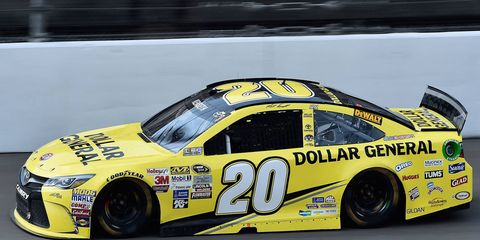 Matt Kenseth dominated the Pure Michigan 400 on Sunday with the experimental high-drag package.