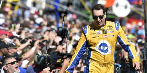 Kyle Busch is fighting to remain in the Chase.