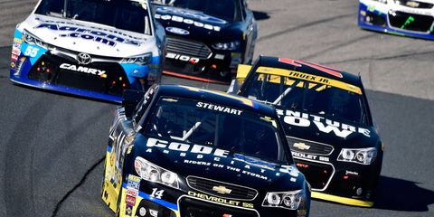 Tony Stewart, 44, is just 25th in the NASCAR Sprint Cup Series standings this season.