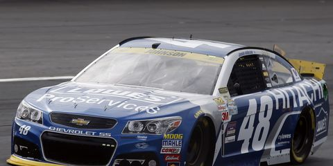 Jimmie Johnson finished sixth in Sunday's New Hampshire race, giving him a boost heading into next week.