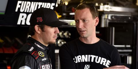 Cole Pearn is the crew chief for Martin Truex Jr..