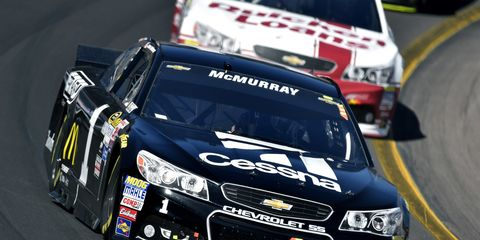 Jamie McMurray is enjoying a great first month to the NASCAR Sprint Cup Series season. The driver credits his new crew chief for the improvement.