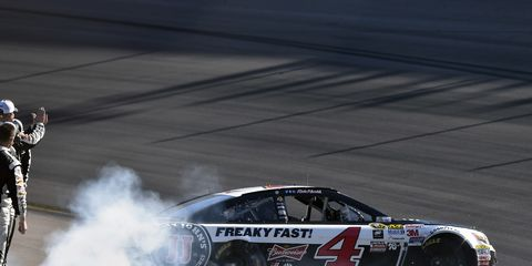 Kevin Harvick has been dominant so far in NASCAR Sprint Cup competition in 2015.