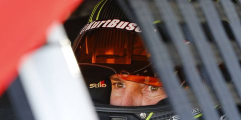 Kurt Busch says one of his mistakes during the Patricia Driscoll saga was not changing the lock code on his motorhome.
