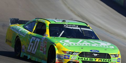 NASCAR Xfinity driver Chris Buescher is preparing to win the series championship this weekend.