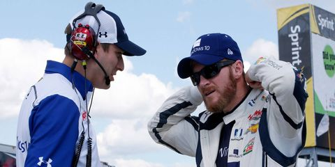 Dale Earnhardt Jr. has two wins this season and is safely locked into NASCAR's postseason.