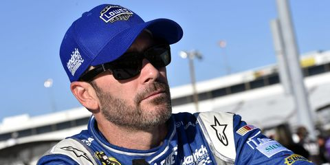 Six-time champion Jimmie Johnson knows that he has his work cut out for him in this year's NASCAR Chase.