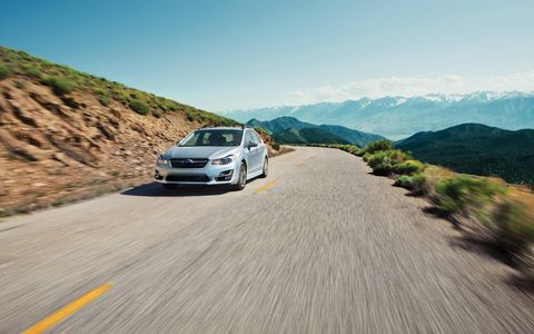 Our Impreza had a Lineartronic continuously variable transmission.
