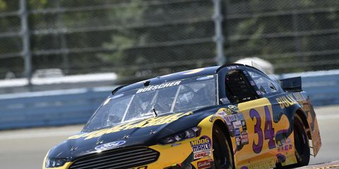 After a third-place finish at Watkins Glen last week, Chris Buescher hopes for another solid road-course finish at Mid-Ohio.