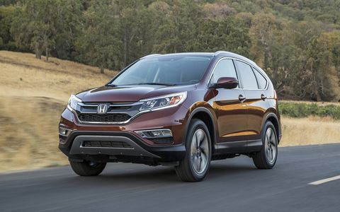 The 2015 Honda CR-V will arrive at dealers on October 1st.