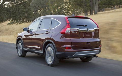 The CR-V will start at $23,320, or a $200 increase over the 2014's MSRP.