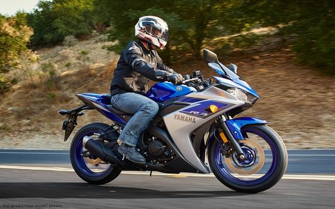 Yamaha's R3 stickers at $4990.