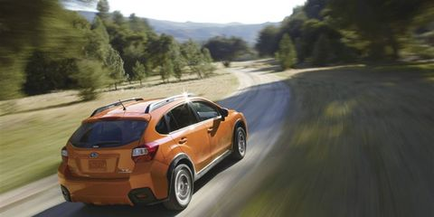 The 2015 Subaru XV Crosstrek models are powered by a 148-horsepower 2.0-liter engine, teamed to symmetrical all-wheel drive.