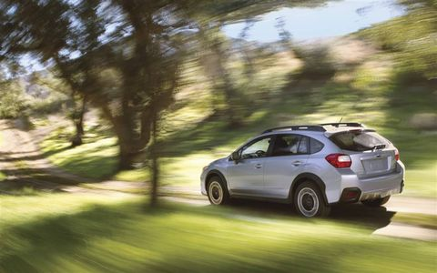 The XV Crosstrek is one of the most fuel-efficient all-wheel-drive crossover utility vehicles, delivering 34-mpg EPA-estimated highway fuel economy.
