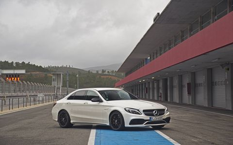 The 2015 Mercedes AMG C63 is driven by an all new 4.0-liter V8 twin turbo engine closely related to the power unit that provides breathtaking propulsion in the new Mercedes-AMG GT.