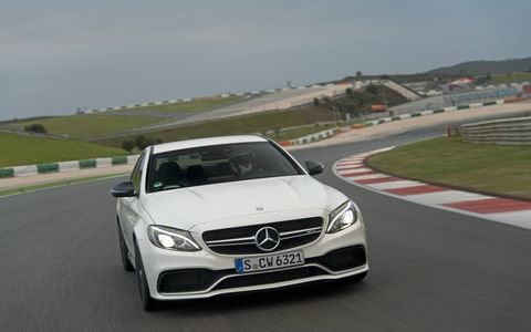 With an unrivaled fuel fuel economy, the C63 is the most fuel-efficient eight-cylinder car in the high-performance segment.