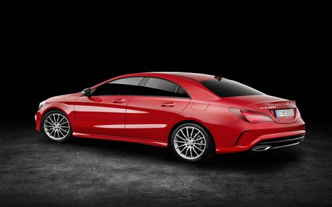 A gallery of pictures for the 2017 Mercedes-Benz CLA and the AMG CLA45.