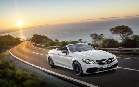 A gallery for the 2017 Mercedes-AMG C63 Cabrio.