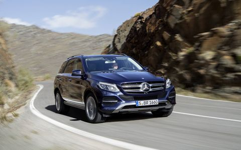 The European model of the Mercedes Benz 250d is visually identical to the 300d here in the USA.